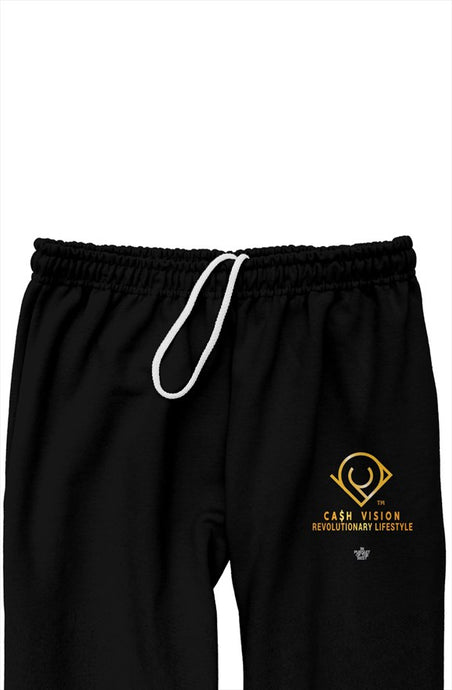 Cash Vision In Pursuit of The Best Relaxed Sweatpants - Black