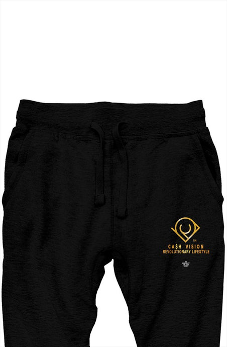Cash Vision In Pursuit of The Best Joggers - Black