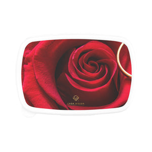 Cash Vision Red Rose Lunch Box - Pink