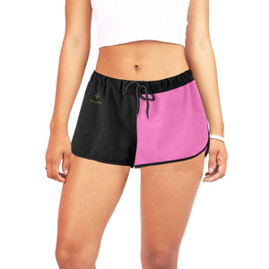 Cash Vision Cool Girl Shorts - Pink Black