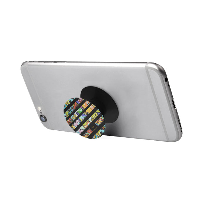 Cash Vision Graffiti Phone Holder