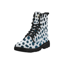 Load image into Gallery viewer, Cash Vision Leopard Martin Boots - White
