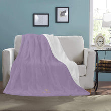 Load image into Gallery viewer, Cash Vision Ultra-Soft Blanket - Silver Purple