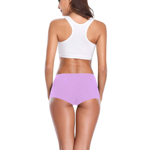 Cash Vision Boyshort Panties - Pastel Purple