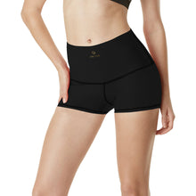 Load image into Gallery viewer, Cash Vision Yoga Shorts - Black