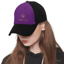 Load image into Gallery viewer, Cash Vision Cap F - Purple Black