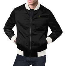 Load image into Gallery viewer, Cash Vision Bomber Jacket - Black White