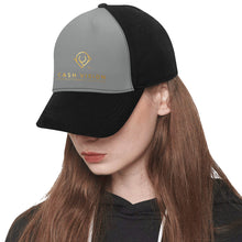 Load image into Gallery viewer, Cash Vision Snapback Hat G - Black Grey