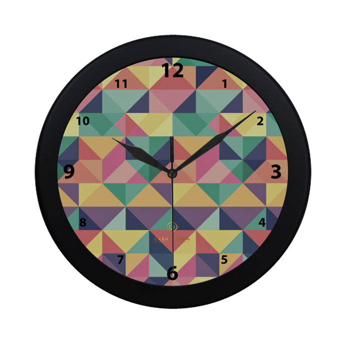 Cash Vision Color Checker Wall Clock