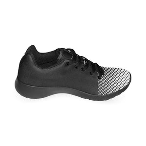 Cash Vision Mesh Running Shoes - Black White