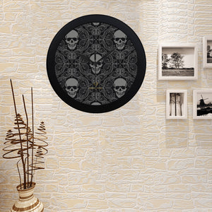 Cash Vision Skull Clock - Black