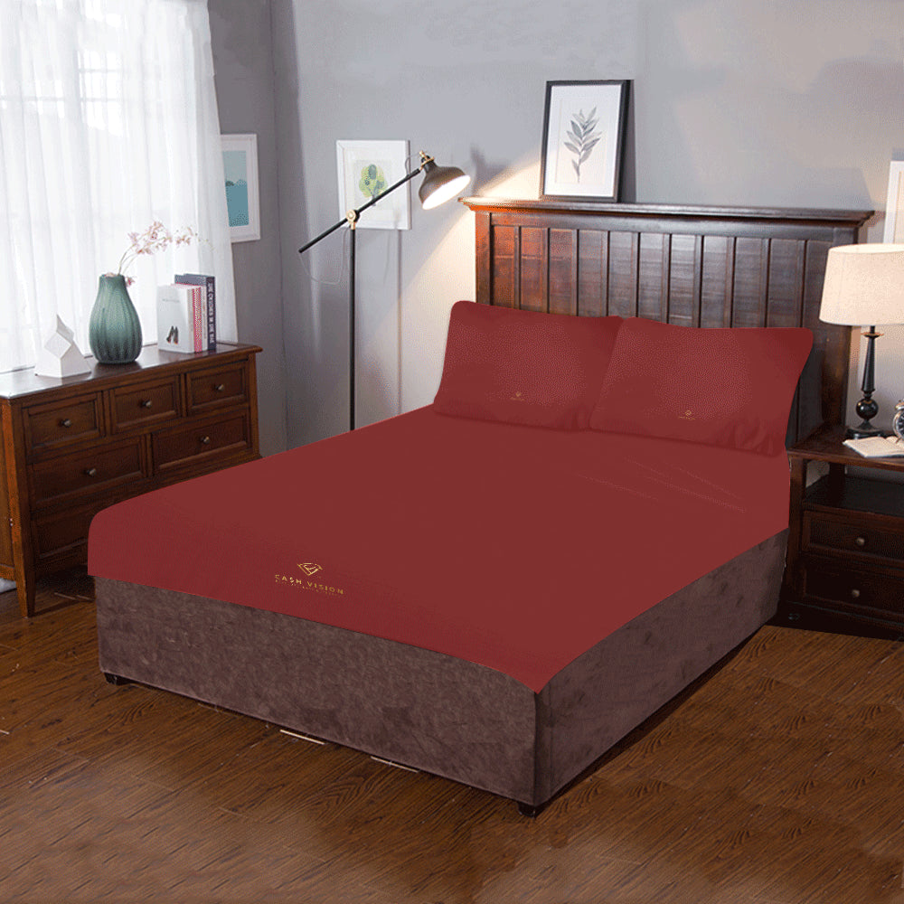 Cash Vision Bed Set - Brown