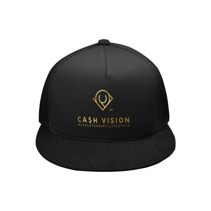 Cash Vision Snapback Hat G - Black