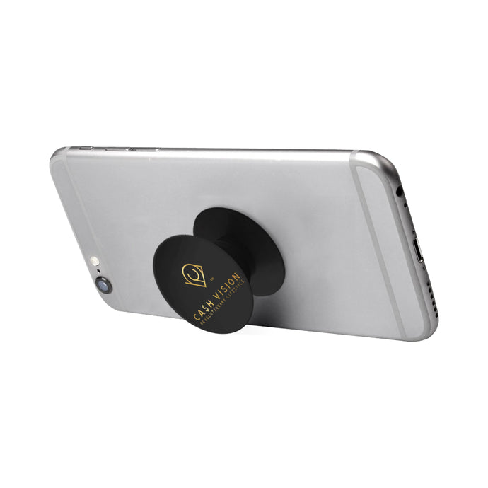 Cash Vision Classic Phone Holder - Black
