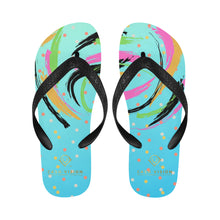 Load image into Gallery viewer, Cash Vision Arts Flip Flop - Sea Blue