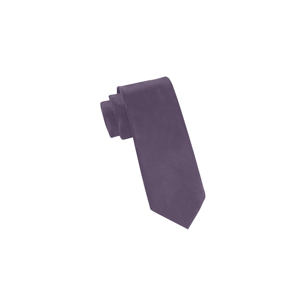 Cash Vision Classic Necktie - Grey in Purple Shade