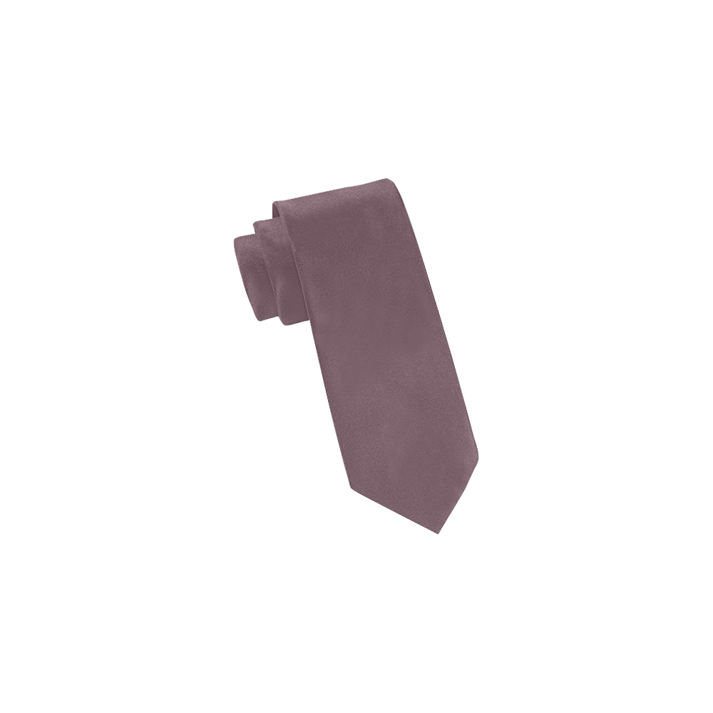 Cash Vision Classic Necktie - Grey in Pink Shade