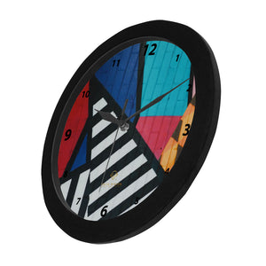 Cash Vision Graffiti Wall Clock