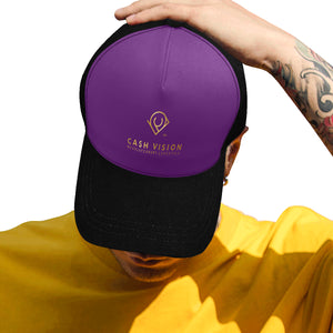 Cash Vision Cap F - Purple Black
