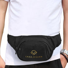Load image into Gallery viewer, Cash Vision Fanny Pack - Black