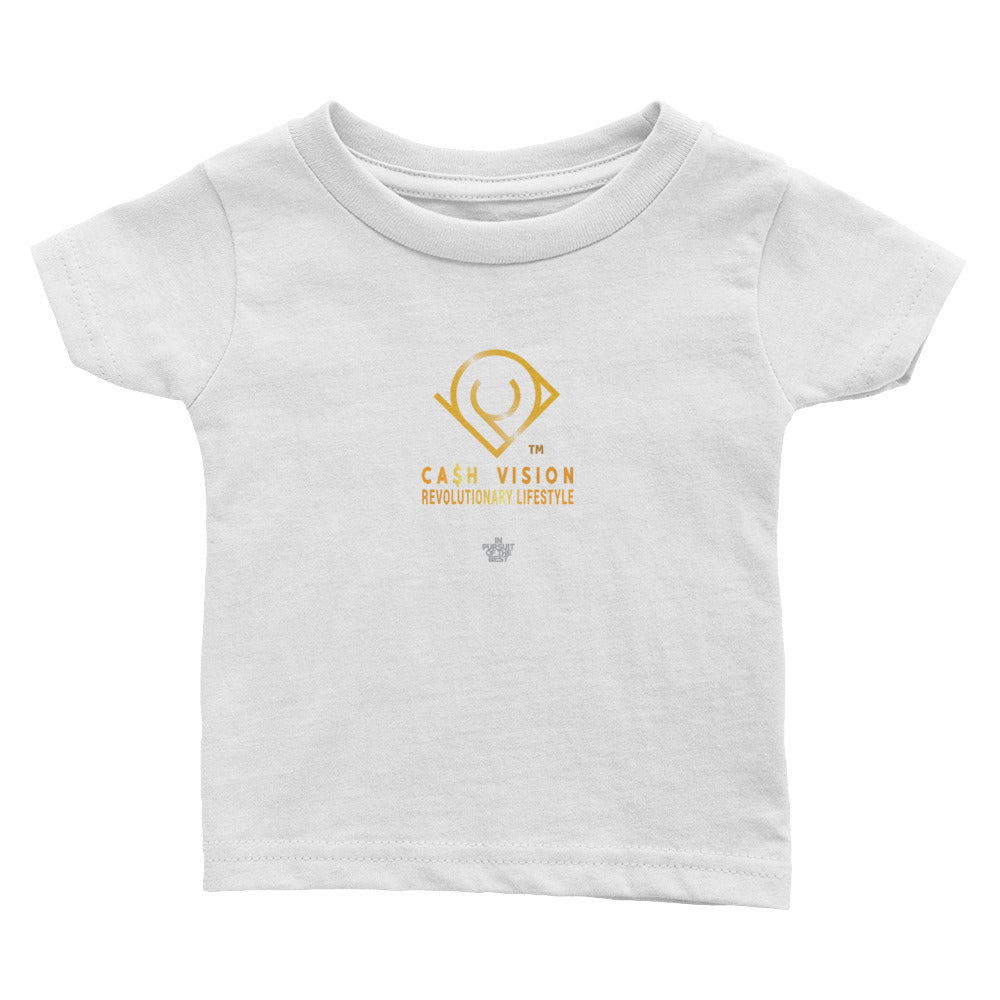Cash Vision Baby Cotton Jersey Tee - White