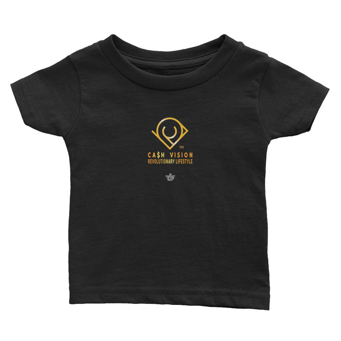 Cash Vision Baby Cotton Jersey Tee - Black