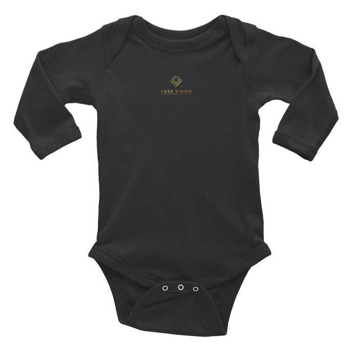 Cash Vision Baby Bodysuit - Black