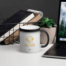 Load image into Gallery viewer, Cash Vision In Pursuit of The Best Matte Black Magic Mug