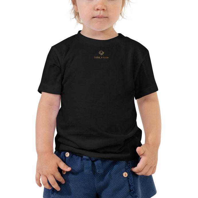 Cash Vision Toddler Tee - Black