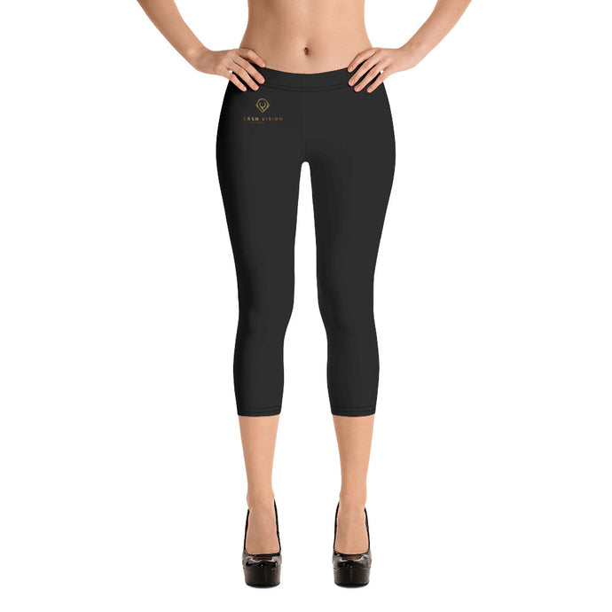 Cash Vision Capri Leggings - Black