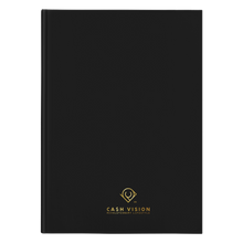 Load image into Gallery viewer, Cash Vision Hardcover Journal - Black