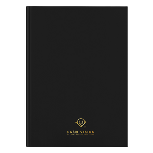 Cash Vision Hardcover Journal - Black