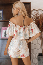 Load image into Gallery viewer, Dreamy Girl Off Shoulder Romper - White