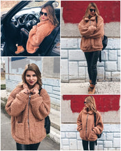 Load image into Gallery viewer, Fashionista Me Faux Fur Jacket - Light Camel