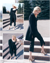 Load image into Gallery viewer, Glam Chic Off Shoulder Jumpsuit - Black