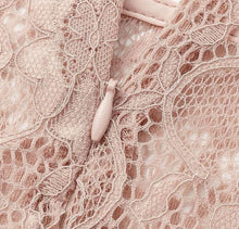Load image into Gallery viewer, Live in My Terms Lace Blouse - Incarnadine Pink