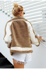 Load image into Gallery viewer, Sunset Hugs Faux Fur Jacket - Coffee
