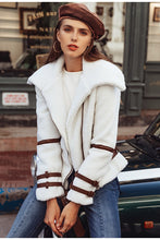 Load image into Gallery viewer, Rock & Roll Faux Fur Coat - White