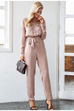 Load image into Gallery viewer, In Love Forever High Collar Jumpsuit - Fresh Pink