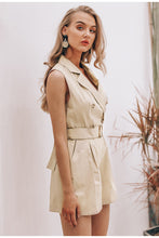 Load image into Gallery viewer, Own It Cotton Romper - Khaki