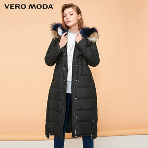 Women's extra long jacket