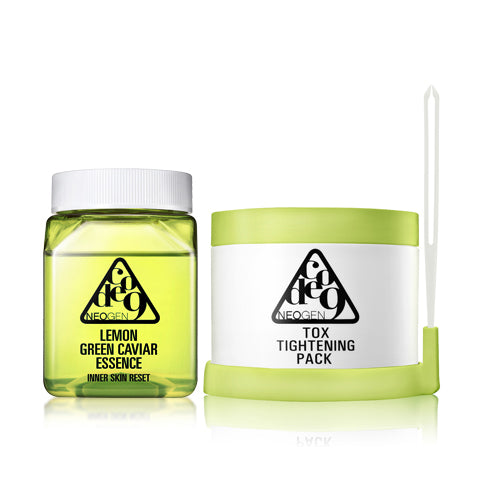 neogen code9 lemon green caviar essence tox tightening pack kit