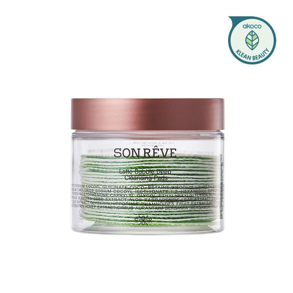 SONREVE Latte Bubble Deep Cleansing Pads