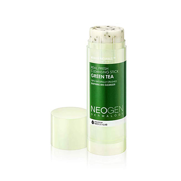 NEOGEN Dermalogy Real Fresh Cleansing Stick Green Tea 80g / 2.82oz [Ship from U.S]