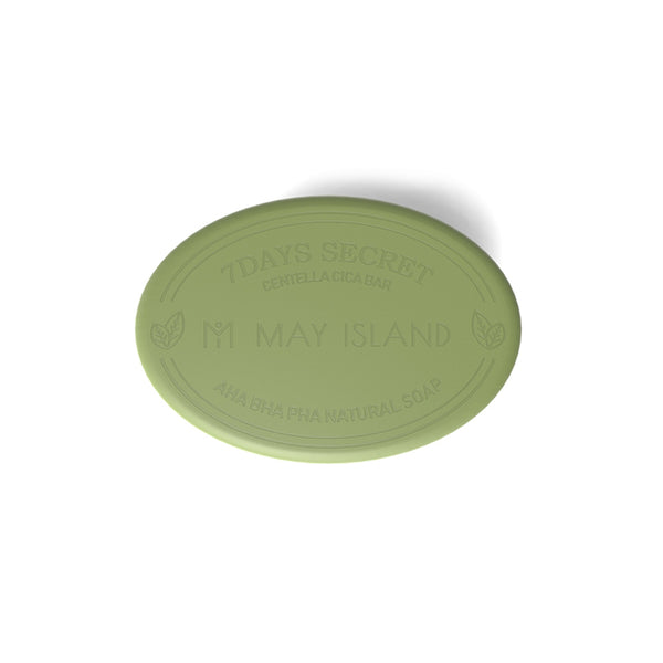 MAY ISLAND Seven Days Secret Centella Cica Pore Cleansing Bar 100g