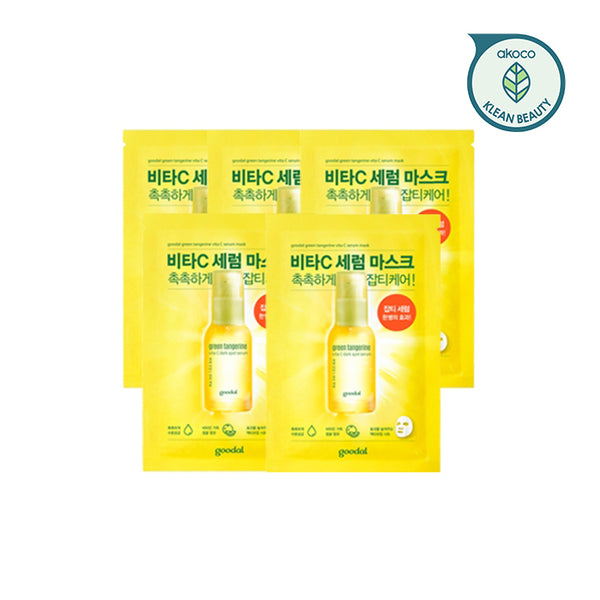 GOODAL Green Tangerine Vita C Serum Mask