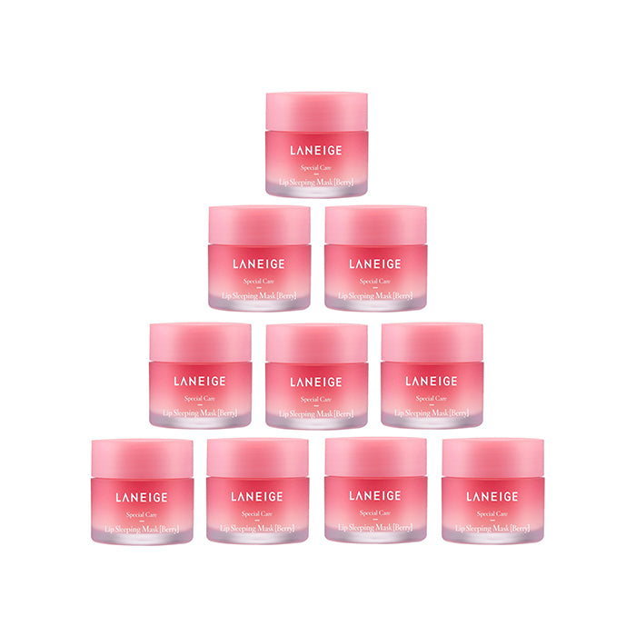 LANEIGE Lip Sleeping Mask #Berry 200g (20g x 10ea) / 7.05oz [Ship from U.S]