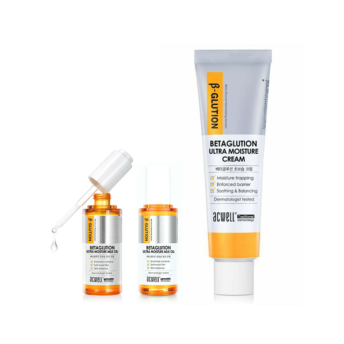 ACWELL Betaglution Ultra Moisture Cream Set