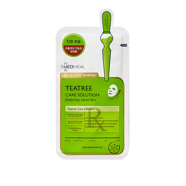MEDIHEAL Teatree Care Solution Essential Mask REX