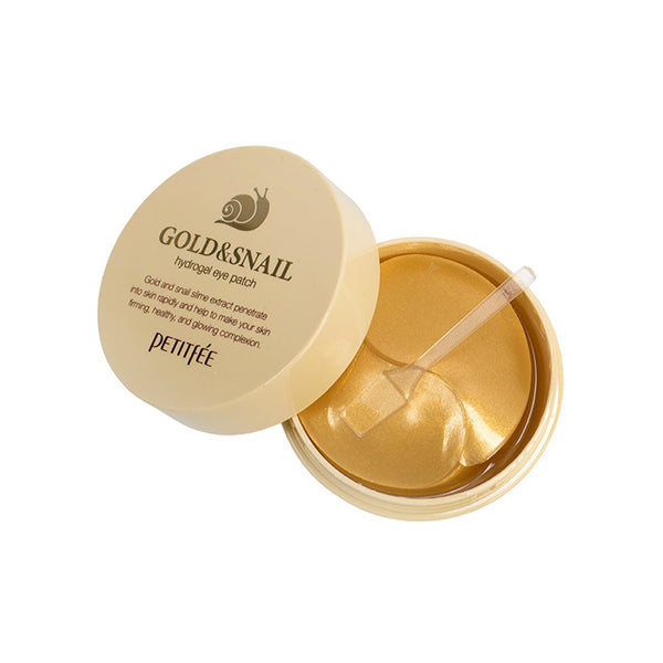 PETITFEE Gold & Snail Hydrogel Eye Patch 60EA [Ship from US]